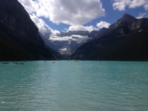 What an amazing view at Lake Louise