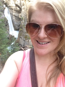 Just me and the waterfalls.