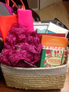 Beautiful Chapters Basket I took home with me.