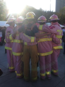 Firefighters in Pink