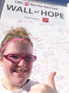 Wriiting on the Wall of Hope