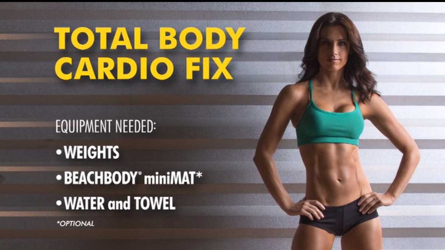 Review 21 Day Fix Total Body Cardio Fix My Beautiful Life