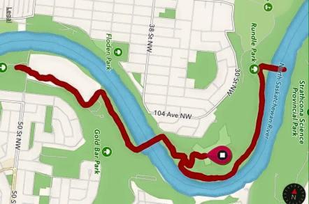 10k race map