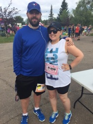 Brother and sister in law are ready to run!